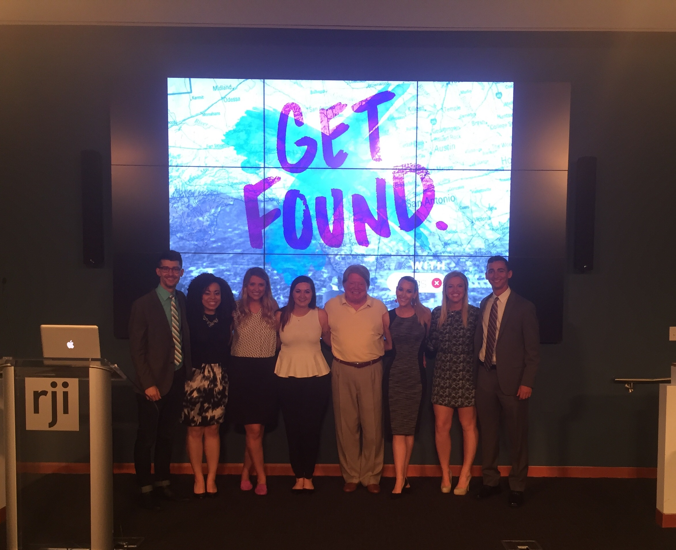 Get Found Team Photo