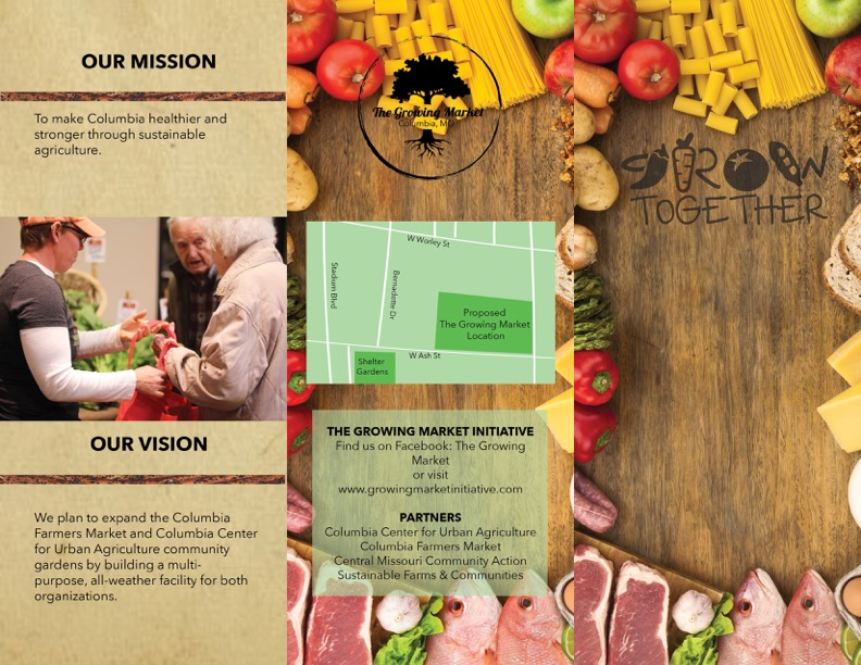 Growing Market Brochure Mockup