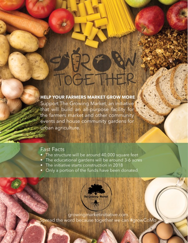 Growing Market Flyer Mockup