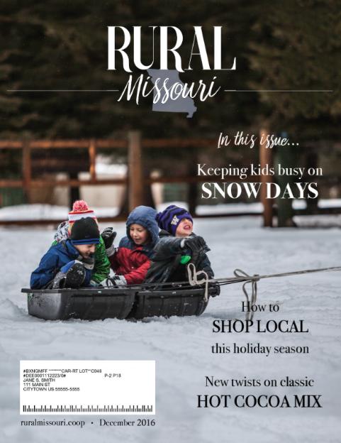 Magazine Cover Mockup Rural Missouri